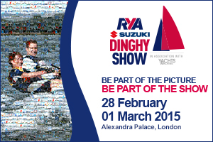 RYA Dinghy Show 2015 – Volunteers Needed