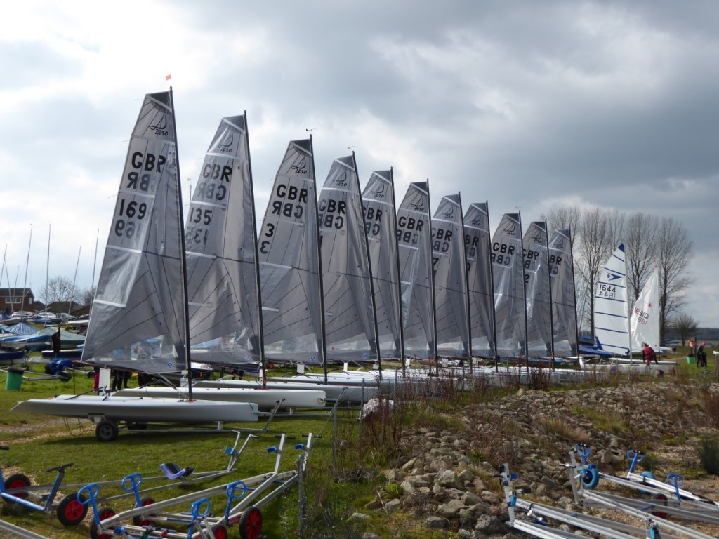 Dzero.co.uk 2020 Inland Championships – Overnight results