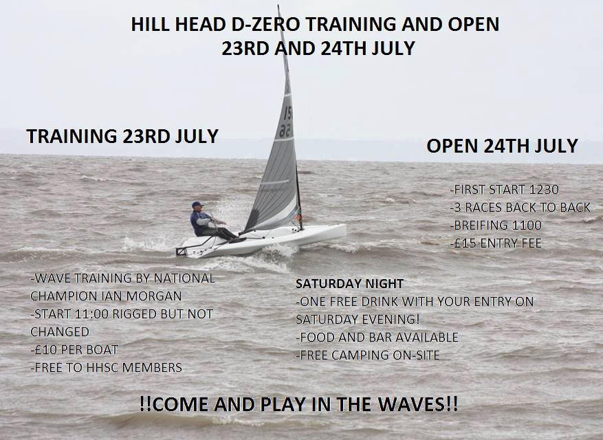 Hill Head Training and Open Meeting Details