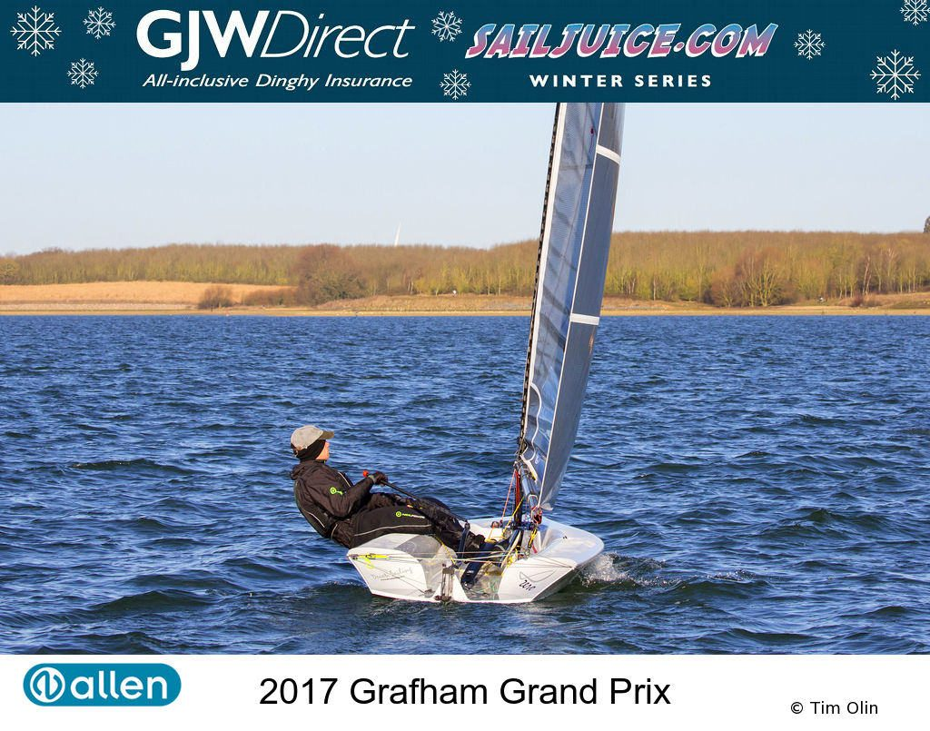 Neil Washington at the Grafham Grand Prix 2017. Photo Copyright Tim Olin