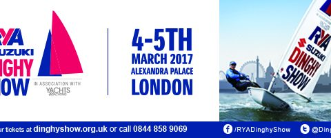 Come See us at the RYA Suzuki Dinghy Show 2017 Stand F12