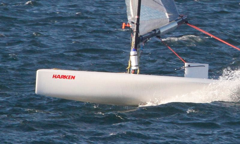 D-Zeros Dominate Class 1 at the Harken Largs Winter Series