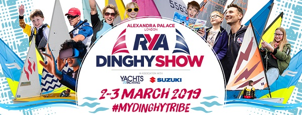 D-Zeros at the RYA Dinghy Show 2019 Stand F12