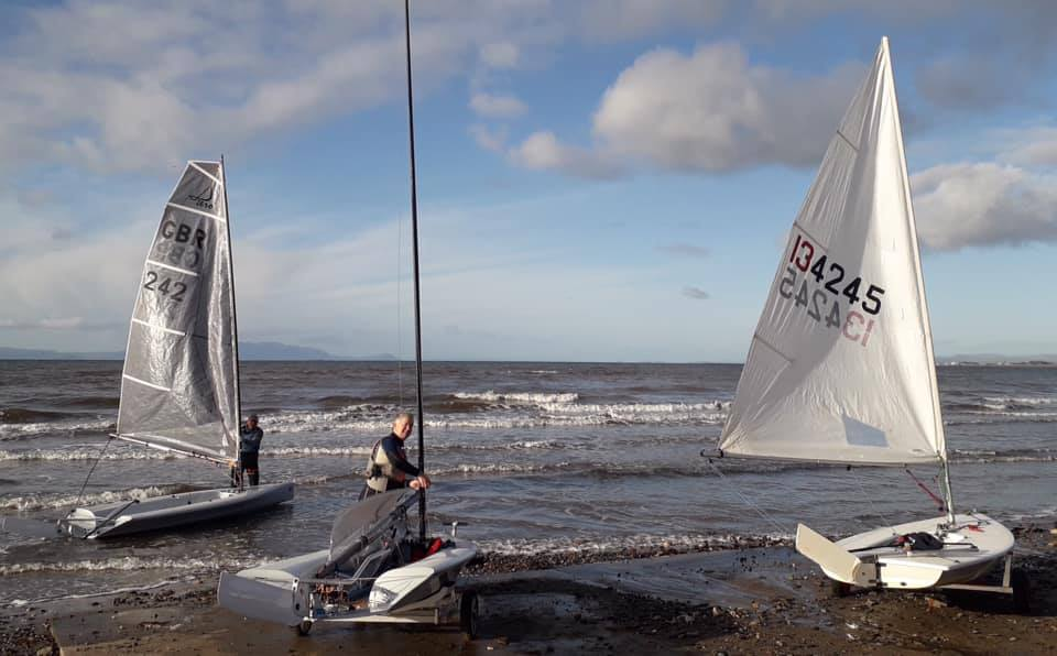 Prestwick sailors getting out amongst the wildlife…